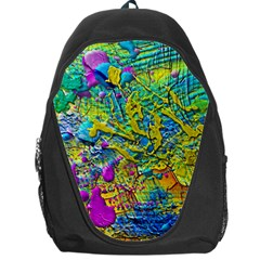 Background Art Abstract Watercolor Backpack Bag
