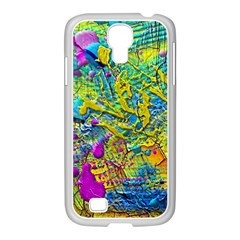 Background Art Abstract Watercolor Samsung Galaxy S4 I9500/ I9505 Case (white) by Nexatart