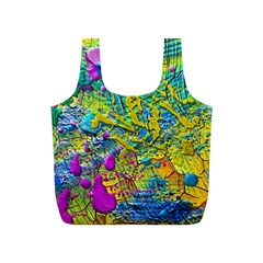 Background Art Abstract Watercolor Full Print Recycle Bags (s)