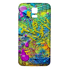 Background Art Abstract Watercolor Samsung Galaxy S5 Back Case (white)