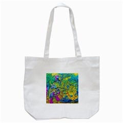 Background Art Abstract Watercolor Tote Bag (white)