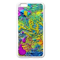 Background Art Abstract Watercolor Apple Iphone 6 Plus/6s Plus Enamel White Case