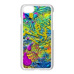 Background Art Abstract Watercolor Apple Iphone 8 Seamless Case (white)