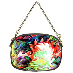 Background Art Abstract Watercolor Chain Purses (one Side)  by Nexatart