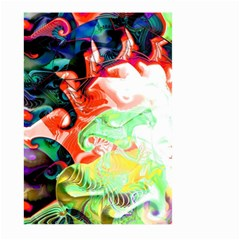 Background Art Abstract Watercolor Large Garden Flag (two Sides) by Nexatart