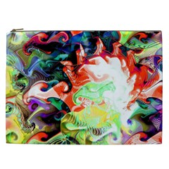 Background Art Abstract Watercolor Cosmetic Bag (xxl)