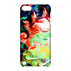 Background Art Abstract Watercolor Apple Ipod Touch 5 Hardshell Case With Stand by Nexatart