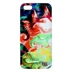 Background Art Abstract Watercolor Iphone 5s/ Se Premium Hardshell Case by Nexatart