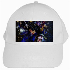 Mask Carnaval Woman Art Abstract White Cap by Nexatart