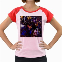 Mask Carnaval Woman Art Abstract Women s Cap Sleeve T Shirt
