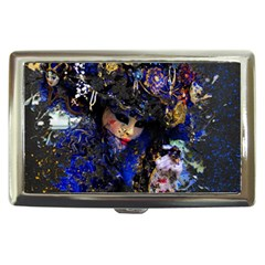 Mask Carnaval Woman Art Abstract Cigarette Money Cases