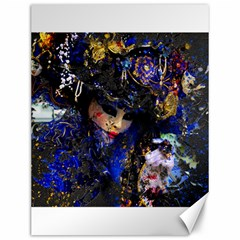 Mask Carnaval Woman Art Abstract Canvas 12  X 16