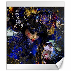 Mask Carnaval Woman Art Abstract Canvas 20  X 24   by Nexatart