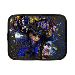 Mask Carnaval Woman Art Abstract Netbook Case (small)