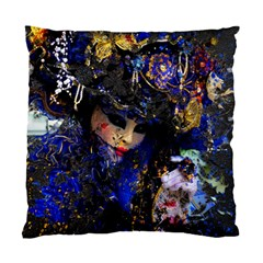 Mask Carnaval Woman Art Abstract Standard Cushion Case (one Side)