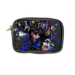 Mask Carnaval Woman Art Abstract Coin Purse