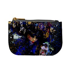 Mask Carnaval Woman Art Abstract Mini Coin Purses