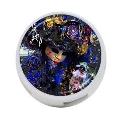 Mask Carnaval Woman Art Abstract 4 Port Usb Hub (two Sides)
