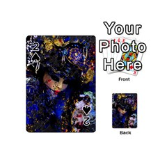 Mask Carnaval Woman Art Abstract Playing Cards 54 (mini)
