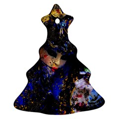 Mask Carnaval Woman Art Abstract Ornament (christmas Tree)