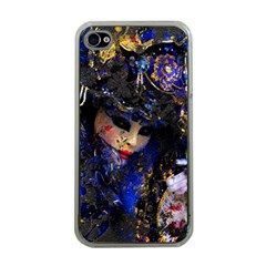 Mask Carnaval Woman Art Abstract Apple Iphone 4 Case (clear)
