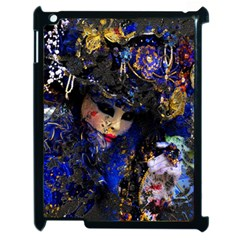 Mask Carnaval Woman Art Abstract Apple Ipad 2 Case (black)