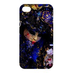 Mask Carnaval Woman Art Abstract Apple Iphone 4/4s Hardshell Case