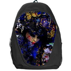 Mask Carnaval Woman Art Abstract Backpack Bag