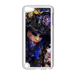 Mask Carnaval Woman Art Abstract Apple Ipod Touch 5 Case (white)