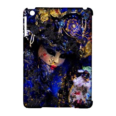Mask Carnaval Woman Art Abstract Apple Ipad Mini Hardshell Case (compatible With Smart Cover)