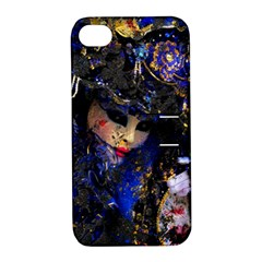 Mask Carnaval Woman Art Abstract Apple Iphone 4/4s Hardshell Case With Stand