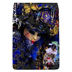 Mask Carnaval Woman Art Abstract Flap Covers (l)