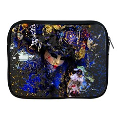 Mask Carnaval Woman Art Abstract Apple Ipad 2/3/4 Zipper Cases