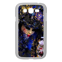 Mask Carnaval Woman Art Abstract Samsung Galaxy Grand Duos I9082 Case (white)