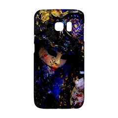 Mask Carnaval Woman Art Abstract Galaxy S6 Edge