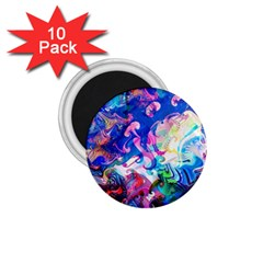 Background Art Abstract Watercolor 1 75  Magnets (10 Pack)