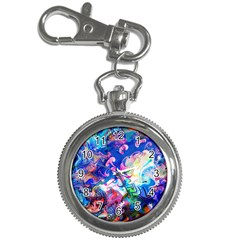Background Art Abstract Watercolor Key Chain Watches
