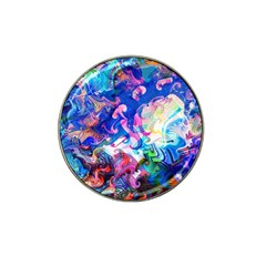 Background Art Abstract Watercolor Hat Clip Ball Marker by Nexatart