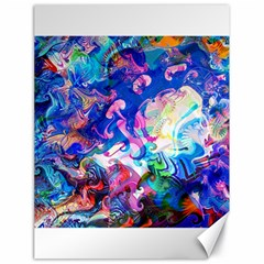 Background Art Abstract Watercolor Canvas 18  X 24