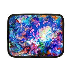Background Art Abstract Watercolor Netbook Case (small)  by Nexatart
