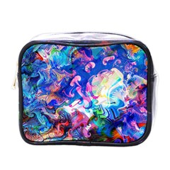 Background Art Abstract Watercolor Mini Toiletries Bags