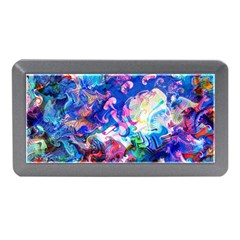 Background Art Abstract Watercolor Memory Card Reader (mini)