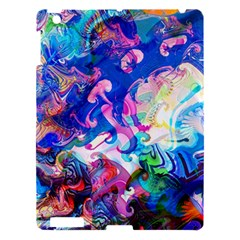 Background Art Abstract Watercolor Apple Ipad 3/4 Hardshell Case