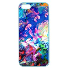 Background Art Abstract Watercolor Apple Seamless Iphone 5 Case (color)