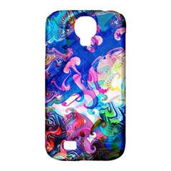 Background Art Abstract Watercolor Samsung Galaxy S4 Classic Hardshell Case (pc+silicone)