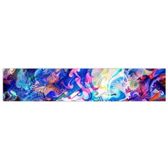 Background Art Abstract Watercolor Small Flano Scarf by Nexatart