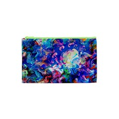 Background Art Abstract Watercolor Cosmetic Bag (xs) by Nexatart