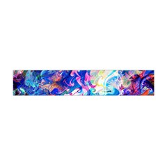 Background Art Abstract Watercolor Flano Scarf (mini)