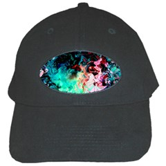 Background Art Abstract Watercolor Black Cap