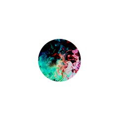 Background Art Abstract Watercolor 1  Mini Buttons
